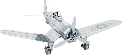 Metal Earth F4U Corsair repülőgép modell, 3D lézervágott fémmodell építőkészlet 502510