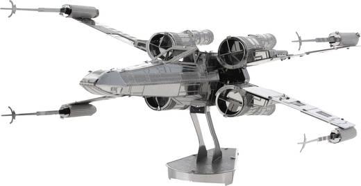 Metal Earth Star Wars X-Wing, X-szárnyú űrrepülő makett, 3D lézervágott fémmodell építőkészlet 502656