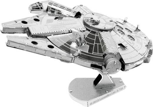 Metal Earth Star Wars Millenium Falcon űrhajó 3D lézervágott fémmodell építőkészlet 502658