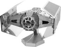 Metal Earth Star Wars Darth Vader TIE Fighter űrrepülő 3D lézervágott fémmodell építőkészlet 502664 Metal Earth