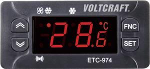 Hőmérséklet szabályozó közepes- és kis hőmérsékletű hűtőrendszerekhez Voltcraft ETC974 VOLTCRAFT