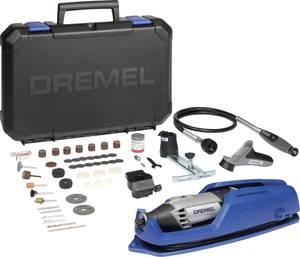 Kézi fúrógép, csiszológép, marógép készlet, flexibilis tengellyel, 175 W, Dremel 4000-4/65 F0134000JP Dremel