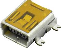 Mini USB B beépíthető alj Alj, beépíthető, vízszintes DS1104-B60SRS Connfly Tartalom: 1 db (DS1104-B60SRS) Connfly