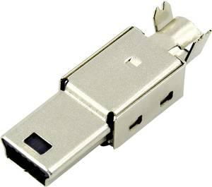 Mini USB B dugó, egyenes DS1105-01-BBN0 Connfly Connfly