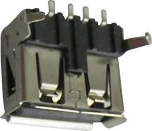 USB A beépíthető alj Alj, beépíthető, vízszintes DS1095-BNM0 Connfly Tartalom: 1 db Connfly