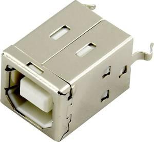 USB B beépíthető alj Alj, beépíthető, függőleges DS1099-01-WN0 Connfly Tartalom: 1 db Connfly