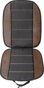 Autós ülésvédő üléshuzat, bőrhatású, fekete, Unitec 75775 Unitec