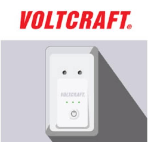 Fogyasztásmérős konnektor, okostelefonhoz, smart funkcióval Android és iOS alkalmazásokhoz Voltcraft Powerline PLC 3000