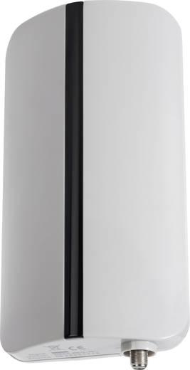 Aktív kültéri DVB-T antenna, 20 dB, fehér/fekete
