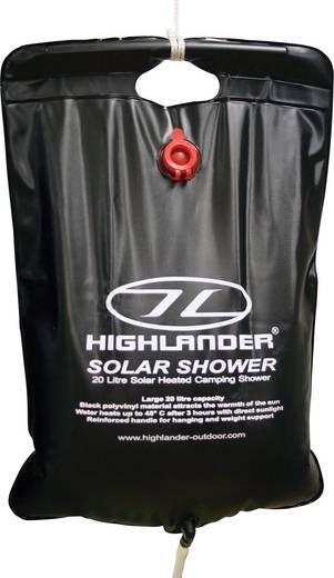 Hordozható zuhany, mobil zuhany, napelemes, 20 l, Highlander CP016