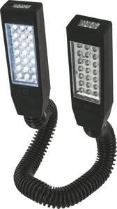 LED-es kemping lámpás, elemes, 310 g, fekete, Highlander Twin 42 TOR178 Highlander