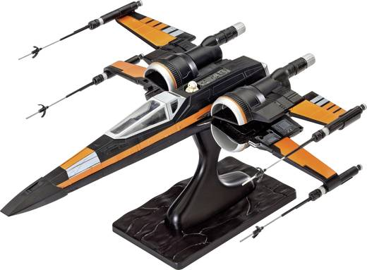 Revell 06750 Star Wars Poe´s X-Wing Fighter Sci-Fi