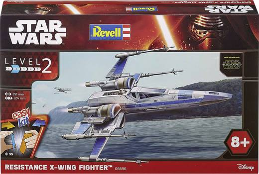 Revell 06696 Star Wars Resistance X-Wing Fighter építőkészlet