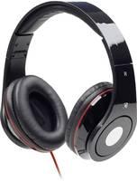 On Ear összehajtható fejhallgató mikrofonnal, Gembird Detroit (MHS-DTW-BK) Gembird