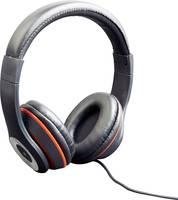 On Ear fejhallgató, fekete, Gembird Los Angeles (MHS-LAX-B) Gembird