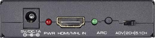 HDMI audio konverter, Toslink, RCA átalakító, extractor SpeaKa Professional 29063c25