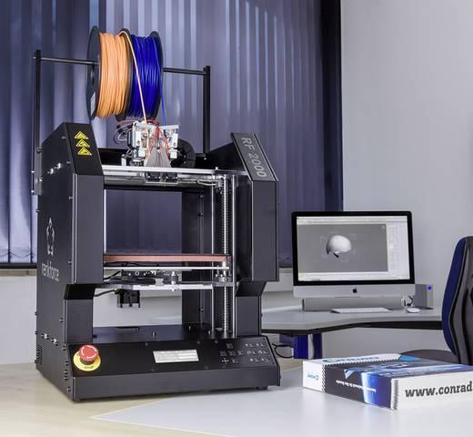 3D nyomtató, készreszerelt, Renkforce RF2000