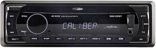 Bluetooth-os, USB-s, SD kártyás autórádió Caliber Audio Technology RMD 231BT
