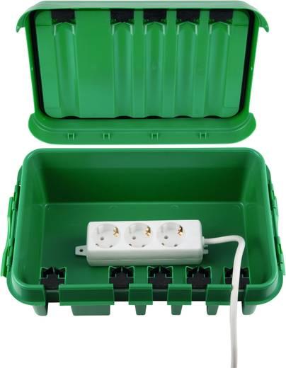 Kerti szerelődoboz, zöld, Heitronic 21043