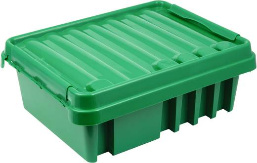Kerti szerelődoboz, zöld, Heitronic 21044