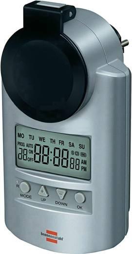 Digitális heti időkapcsoló óra, IP44, Brennenstuhl