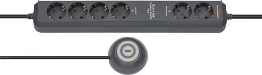 Hálózati elosztó kapcsolóval, 6 részes, antracit, Brennenstuhl 1159560516