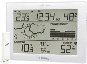Vezeték nélküli időjárásjelző állomás, Techno Line MA 10410 Techno Line