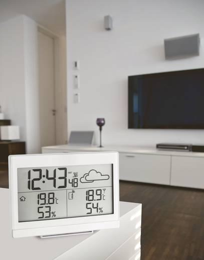 Vezeték nélküli időjárásjelző állomás, fehér, TFA CASA