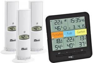 Vezeték nélküli hőmérő és páratartalom mérő, TFA 30.3060.01 TFA Dostmann