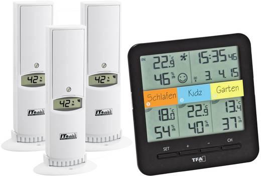 Vezeték nélküli hőmérő és páratartalom mérő, TFA 30.3060.01