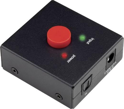 2 portos Toslink optikai elosztó, SpeaKa Professional