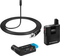Sennheiser AVX-ME2 SET-3-EU Rátűzhető Kamera mikrofon Átviteli mód:Rádiójel vezérlésű Vezetékkel, Csíptetővel Sennheiser