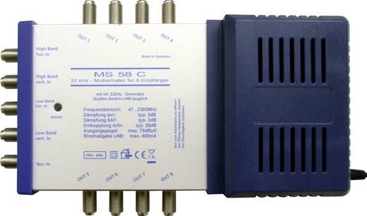Multikapcsoló, renkforce MS58C