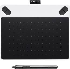 USB grafikus tábla, WACOM Intuos Draw White + Pen S Wacom