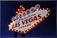 LED-es dekorációs falikép, 60 x 40 cm, Heitronic 34083 Las Vegas (34083) Heitronic