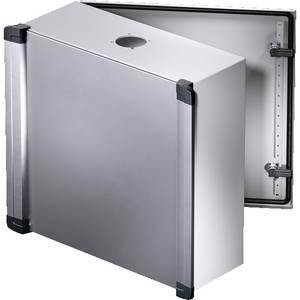 Installációs műszerdoboz 600 x 380 x 210 mm, alu, acéllemez, műanyag, világosszürke, Rittal CP 6320.500 Rittal