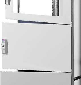 Ház ajtó (Sz x Ma) 400 mm x 600 mm Acéllemez Szürke Rittal SV 9672.146 1 db Rittal