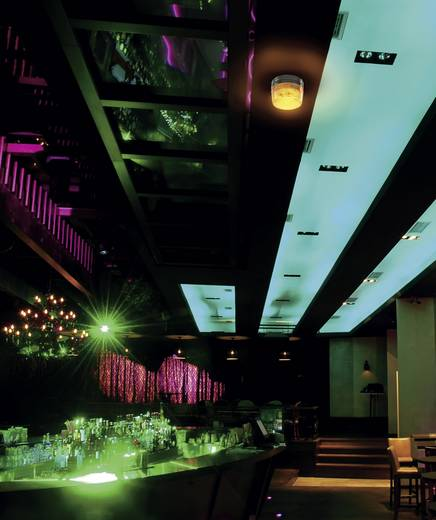 LED-es stroboszkóp, 15 LED, narancs, Basetech