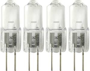 Sygonix Halogén EEK: C (A++ - E) G4 32 mm 12 V 5 W Melegfehér 1 készlet Sygonix