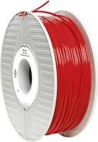 3D nyomtatószál 2,85 mm, PLA, piros, 1 kg, Verbatim 55279 (55279) Verbatim