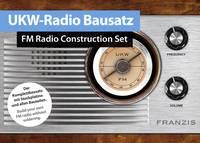 URH rádió építőkészlet, URH Retro rádió építőkészlet 14 éves kortól Franzis Verlag 65287 (65287) Franzis Verlag