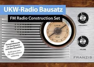 URH rádió építőkészlet, Franzis Verlag 65287 Franzis Verlag