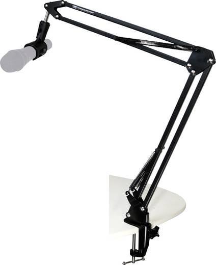 Asztali, hajlítható karos mikrofonállvány TIE Studio 19-90007