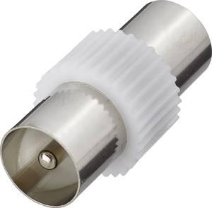 Antenna adapter, fém, koax dugó – koax dugó, renkforce Renkforce