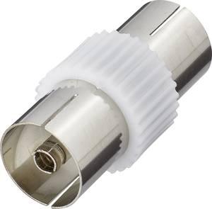 Antenna adapter, fém, koax alj – koax alj, renkforce 410313 Renkforce