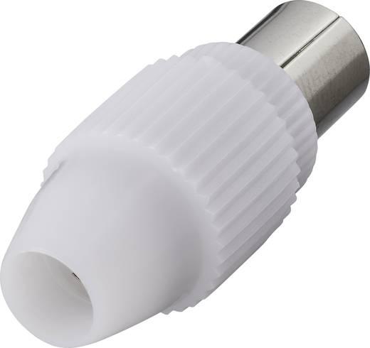 Koax dugó, műanyag, renkforce KW-3S 0800301