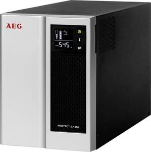 Megszakításmentes tápegység 1500 VA AEG Power Solutions Protect B. 1500 AEG Power Solutions