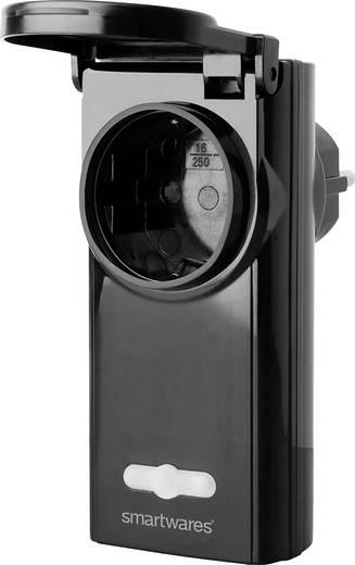 Rádiójel vezérlésű kültéri dugaszoló aljzat Smartwares SH5-RPS-36B