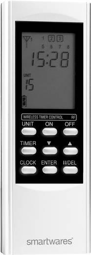 15 csatornás LCD-s távirányító, SmartHome vezeték nélküli rendszerekhez Smartwares SH5-TDR-T