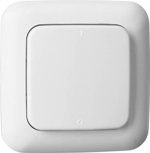Rádiójel vezérlésű fali kapcsoló, 1 csatornás, fehér színű Smartwares SH5-TSW-A